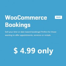 bookings extension woocommmerce