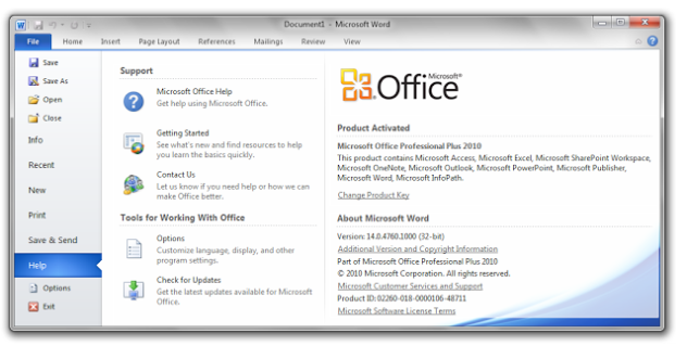 download ms office professional 2007